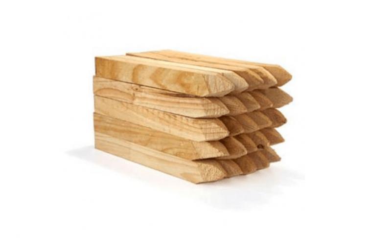 acre estacas de madera