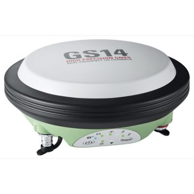 antena gnss leica viva gs14 front