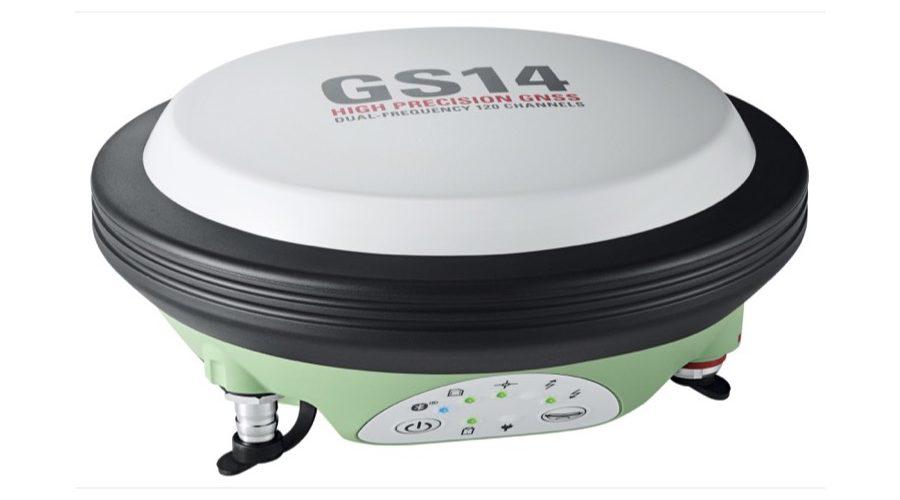 Video Antena GNSS Leica Viva GS14