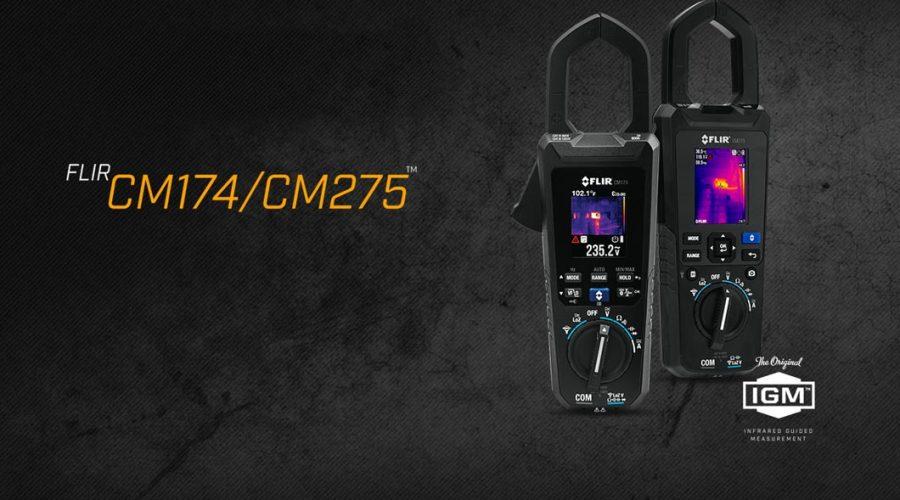 Video Medidor de tenaz FLIR CM174 e CM 275 AC/DC