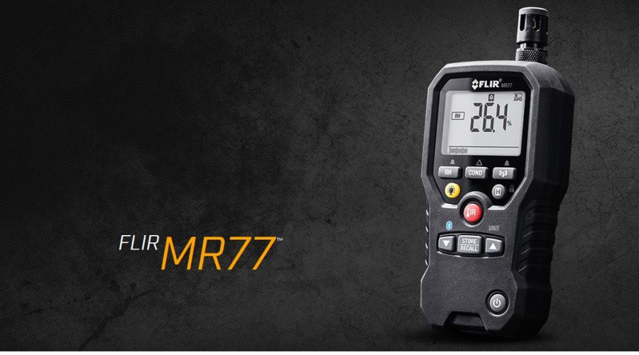 Video Sensor de humidade FLIR MR77