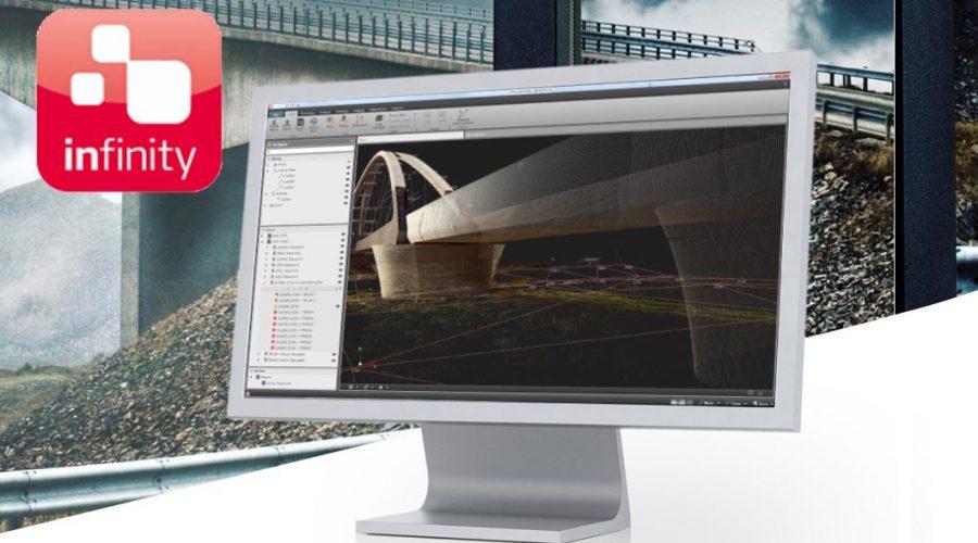 Video Software de processamento de estruturas Leica Infinity