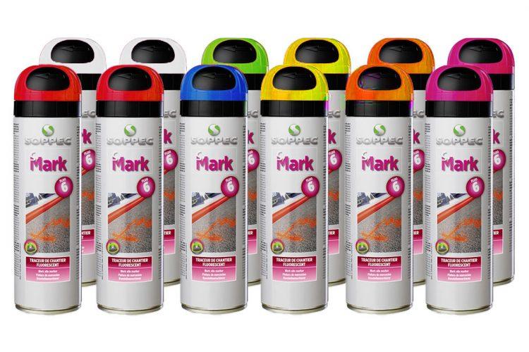 pintura fluorescente S-Mark