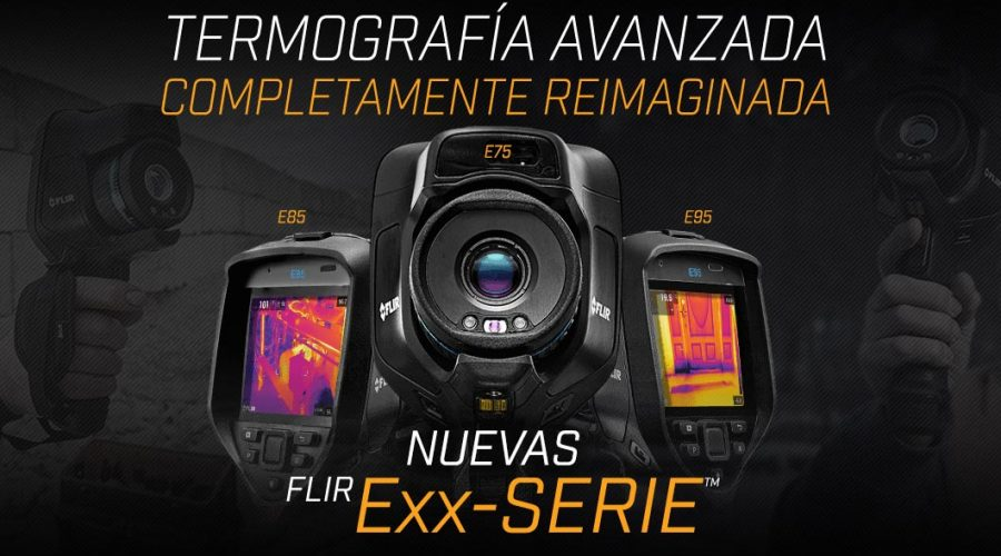 Video Cámara termográfica avanzada E53 – E75 – E85 – E95