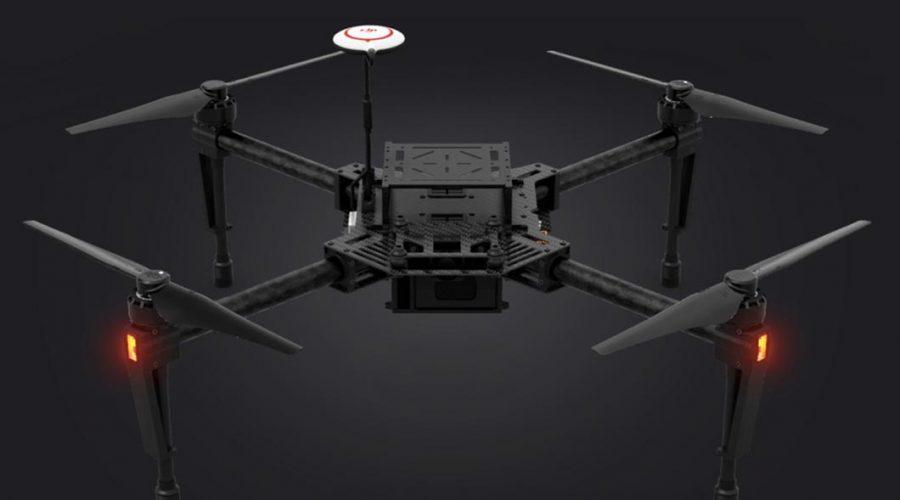 Video Drone DJI Matrice 100