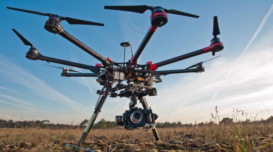 Video Drone DJI Spreading Wings S900