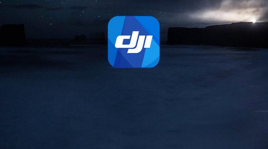 Video Aplicação de voo para drone DJI GO