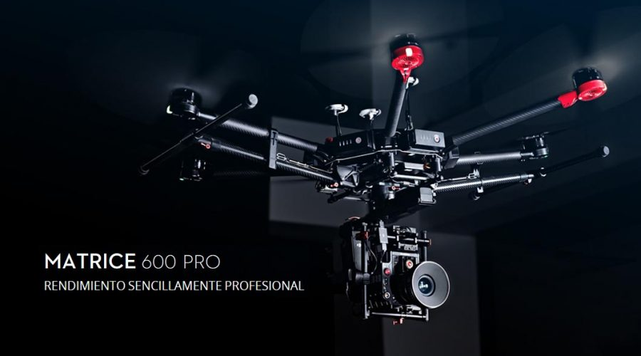 Video Drone DJI Matrice série 600 PRO