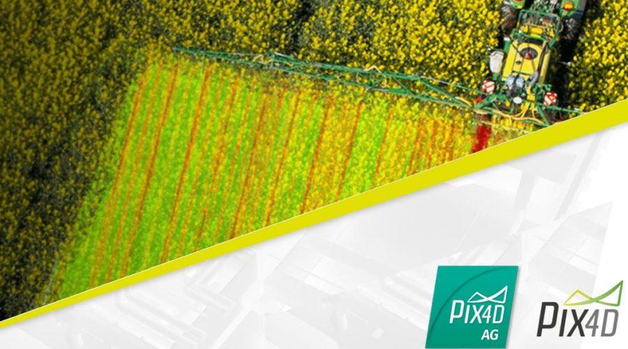 Video Matrice 210 para agricultura com câmara RGB Zenmuse X4S multiespectral RedEdge-M e Pix4DAg