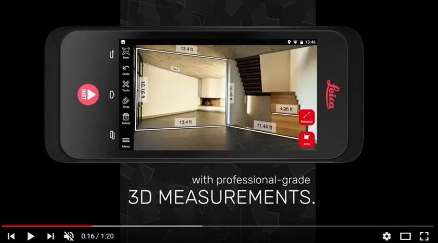 Video Medidor 3D Leica BLK 3D