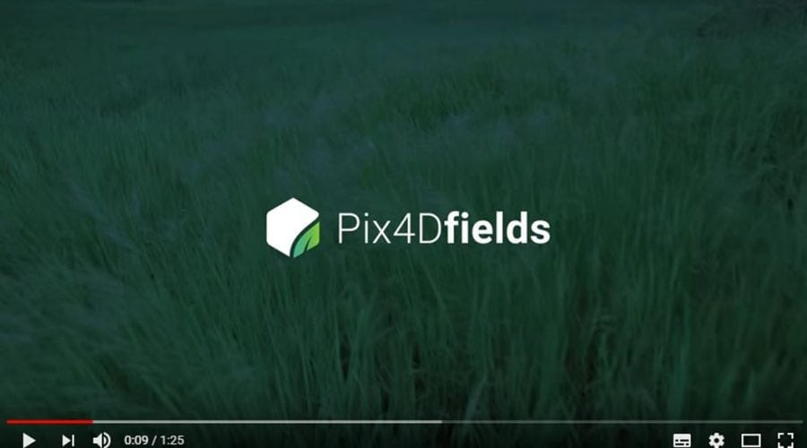 Video Software de interpretação para agricultura Pix4fields