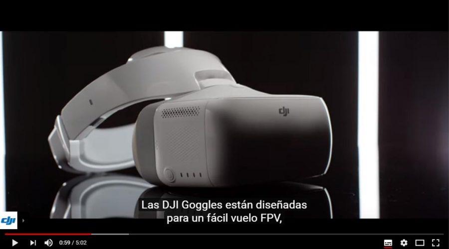Video Óculos Goggles DJI para drone