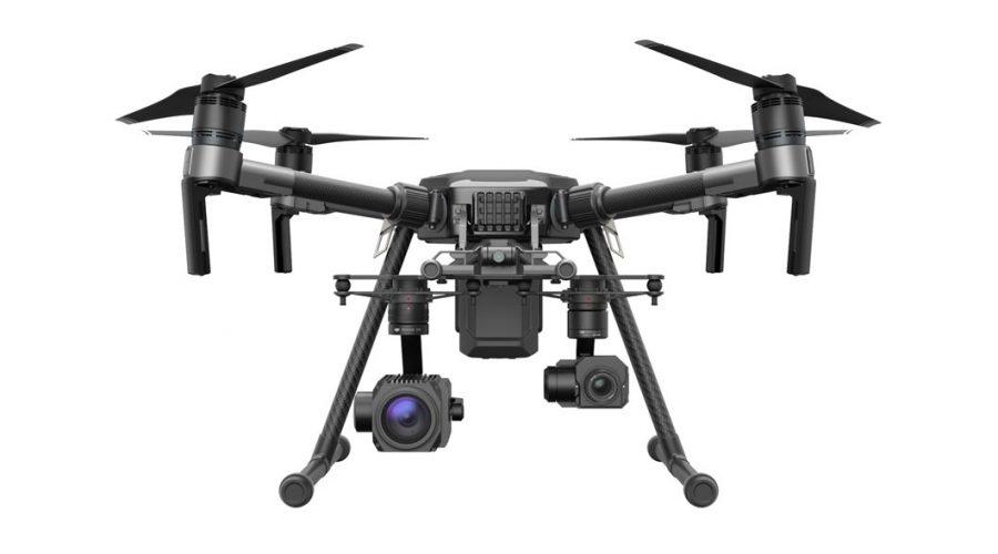 Video DJI MATRICE 210 para segurança e indústria com Zenmuse Z30 e Zenmuse XT