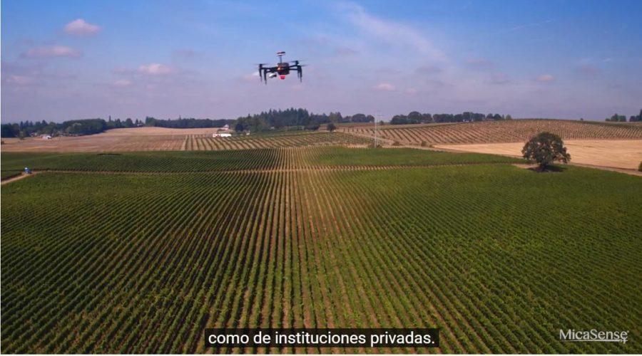 Video Câmara multiespectral para drone Micasense ALTUM