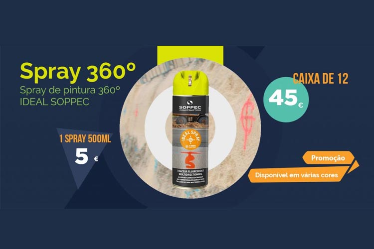 Spray de pintura Ideal 360º