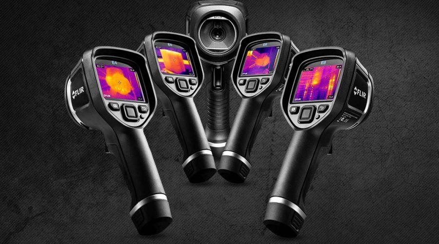 Video Câmara termográfica FLIR E4