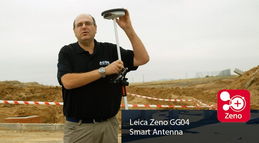 Video Antena GNSS Leica Zeno GG04 Plus