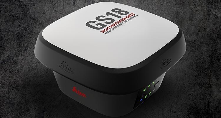 Antena GNSS GS18 i com câmara de vídeo