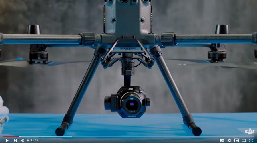 Video Câmara para drone DJI Zenmuse P1 para fotogrametria