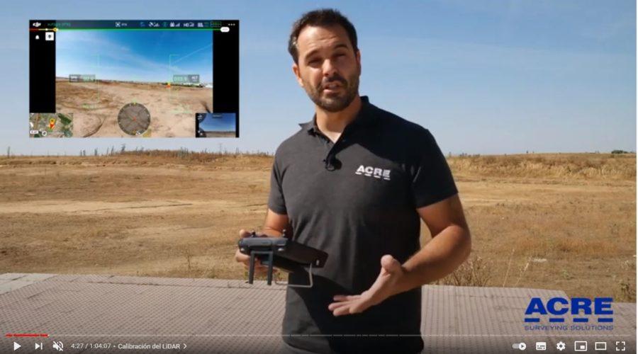 Video LiDAR para drone DJI Zenmuse L1