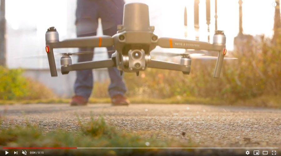 Video Drone DJI MAVIC 2 Enterprise ADVANCED