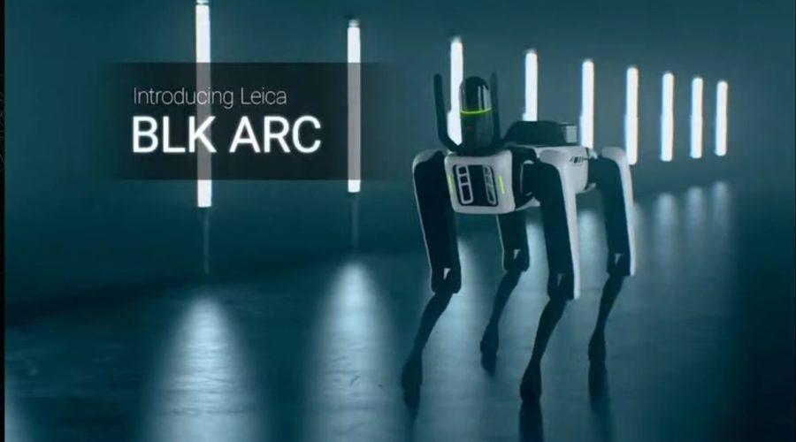Video Scanner laser autónomo Leica BLK ARC